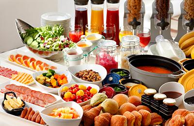 Breakfast Keio Plaza Hotel Sapporo